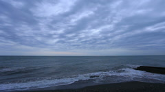 Stock Video Footage of sunset on the Black sea. Adler, Russia. Full HD