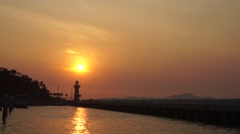 Pattaya, lighthouse Stock Footage