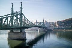 Stock Photo of Liberty Bridge Budapest