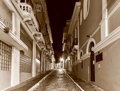 Old San Juan Streets Stock Photos