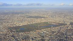 Aerial view of cityscape around London Stock Photos