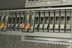 Server and raid storage Stock Photos