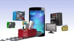 Smart phone,app application tool for developer, programmers (included Alpha) Arkistovideo