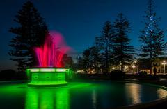 Tom Parker Fountain Napier - stock photo