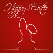 Illustration Vector Graphic Happy Easter - stock illustration
