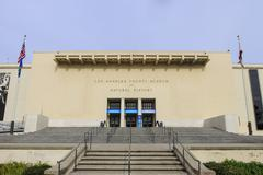 Natural Museum of Los Angeles - stock photo