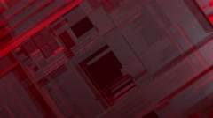 UHD BACKGROUND FOOTAGE LINES RED MOVE SOFT EDGES Stock Footage