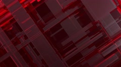 UHD BACKGROUND LINES RED LOOP - stock footage