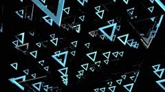 Triangle Dynamo Loop 9 - stock footage