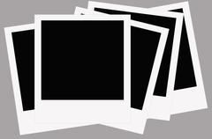 Polaroid film Stock Photos