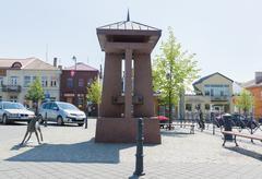 Siauliai city in the Lithuania Stock Photos