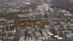 Over South End, Boston. Shot in November 2011. Stock Footage