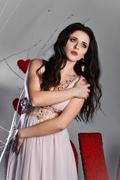 St. Valentine's princesse Stock Photos