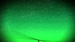 Nightvision helicopter candid military Stock Footage