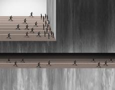 Hidden Career Opportunities - stock illustration