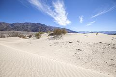 Sand dunes in Death Valley National Park, Stovepipe Wells, USA. - stock photo