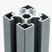 Aluminum profile accessory Stock Photos