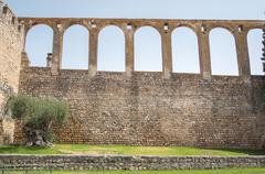 Aqueduct in Serpa, Portugal Stock Photos