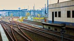 Railway and Trains - stock photo
