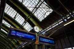 Berlin East railway station - stock photo