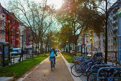 Berlin, Germany - November 13, 2015: city in the fall Kuvituskuvat
