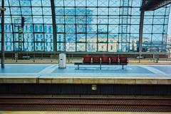 The main railway station in Berlin Stock Photos