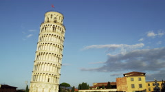 Cathedral Leaning Tower Pisa Italy 4K Stock Video Footage Stock Footage