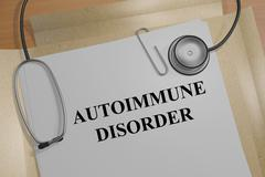 Autoimmune Disorder concept - stock illustration
