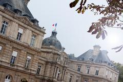French Senate Stock Photos