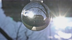 The park behind the parliement, nikon ball Stock Footage