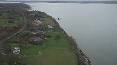 Middletown, Rhode Island. Shot in November 2011. Stock Footage
