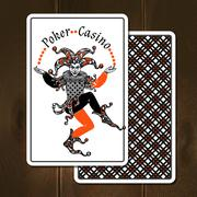 Joker Cards Realistic Illustration Stock Illustration
