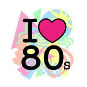 I love 80's old style Stock Illustration