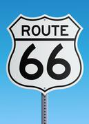 Route 66 sign Piirros