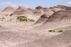 Stock Photo of Barren hills eroded landscape US Highway 89 at Cameron Arizona USA North America