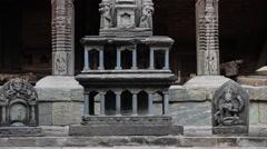 Sundari Chowk. Patan Museum. Slider motion Stock Footage
