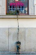 Wroclaw. Sculpture gnome. - stock photo