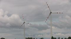 Energy, windmill Stock Footage