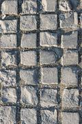 Texture of street paving - stock photo