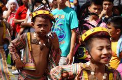 Stock Photo of Street Cultural Brown Dancers