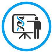 Genetics Report Icon - stock illustration