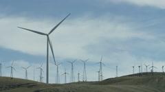 Wind Turbine Lock Off 4k - stock footage