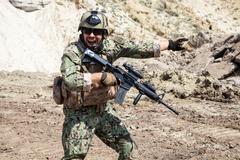 Navy SEAL team Stock Photos