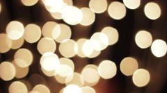 Lamp light blinking disco night background Stock Footage