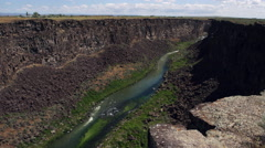 Malad Gorge, Idaho Stock Footage