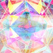 Graphic abstract background - stock illustration