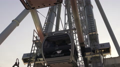Niagara Skywheel Niagara Falls, Canada 4k footage Stock Footage