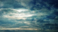 Cinematic Cloudscape Stock Footage
