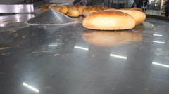 Bread Manifacture Factory food production  - stock footage