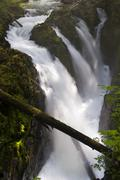 Stock Photo of Waterfalls, Olympic National Park, Washington, USA
